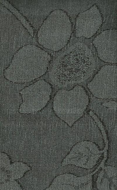 Tecido Chenille Viscose Floral em Chumbo - RUS 35