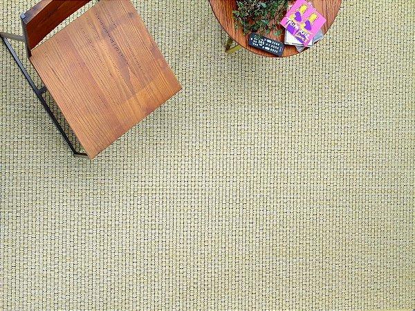 Tapete para Sala Sisal Antiderrapante com Quina de Proteção Clean - S480 - 2,00x2,50