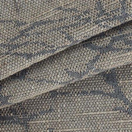 Tecido para Sofá Linho Rústico Ikat Azul - Vice 12