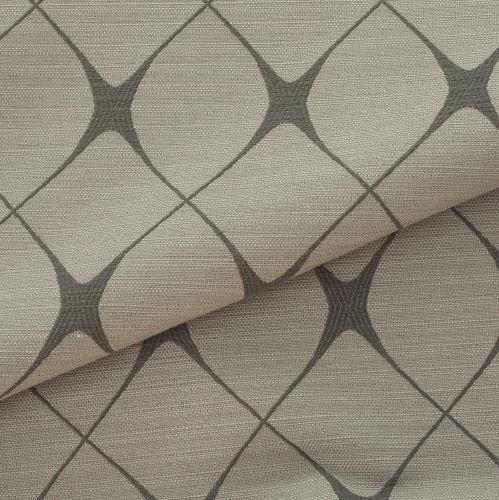 Tecido para Sofá e Estofado Jaquard Cinza e Branco Ferr - 08