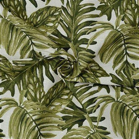 Tecido Acqua Sammer Floral Verde - Summer 325