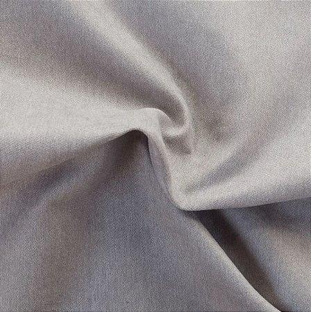 Tecido Veludo Fosco Pelo Baixo Cinza - Eros 03