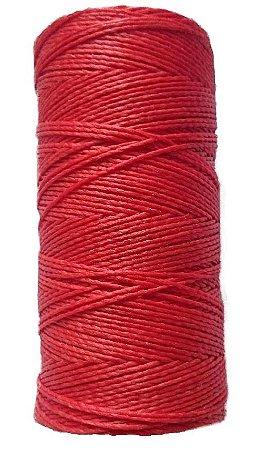 Fio Cordone Encerado Nº 4 - Vermelho