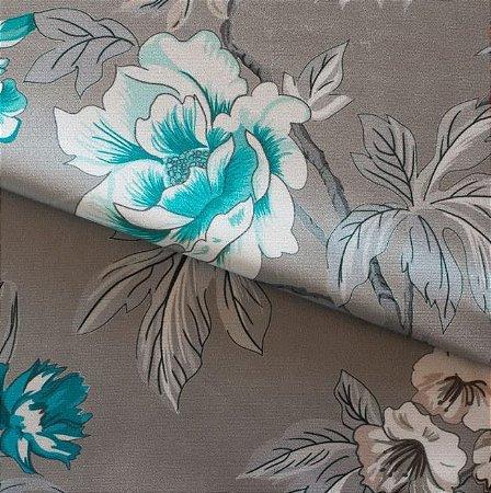 Tecido para Sofá e Estofado Veludo Floral  - MARSE 10