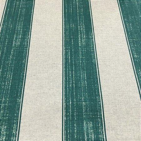 Tecido Para sofá e Estofado Listrado Em Tons de Verde - Egito 14
