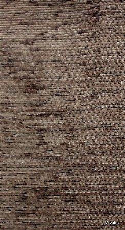 Tecido para sofa chenille Liso Marrom - Tur 44