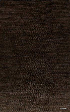 Tecido para sofa chenille Liso Tabaco Seco - Tur 47