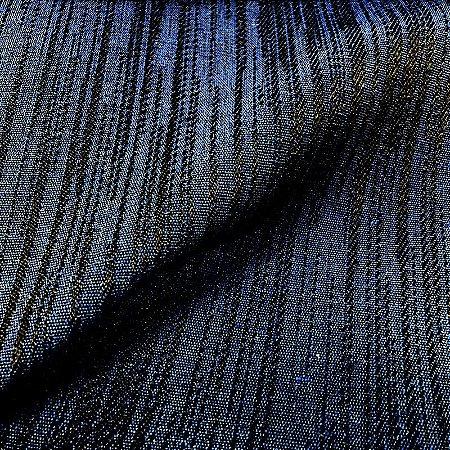 Tecido Para Sofá Jacquar Azul Linhas  - Havana 42