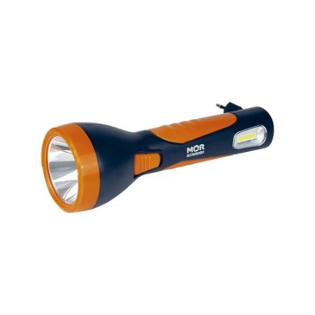 Lanterna Luminária Power Led 150 Lumens Recarregável Bivolt - Mor 9185