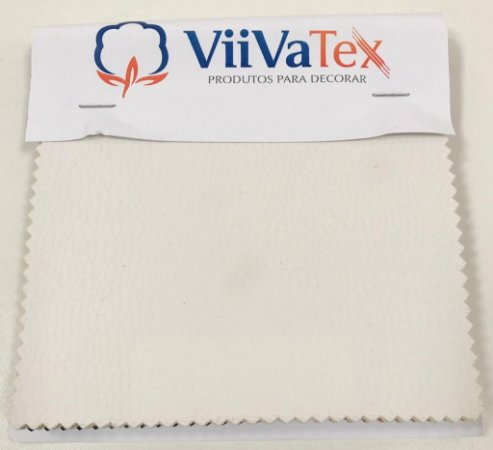 Mostruário de Tecido Courvin Veneto Viivatex - Amostra de 10x10 cm.
