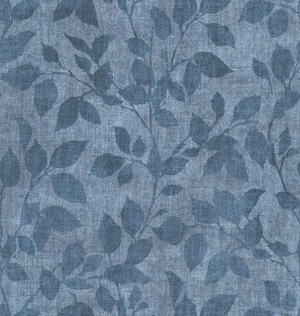 Papel de Parede Vitoriano Estilo Ramos Azul Jeans SZ-003381