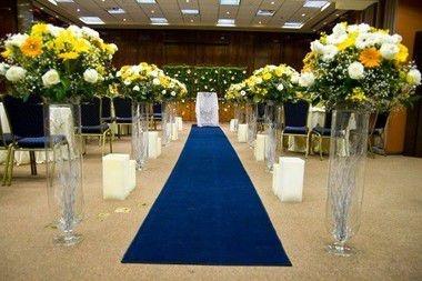 Passadeira Carpete 2m Largura Marinho Para Casamento, Festas 20 Metros de comprimento