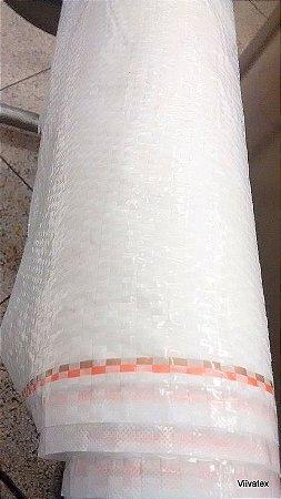 Rafia plastica com 0,83 cm largura - Rolo com 20 metros