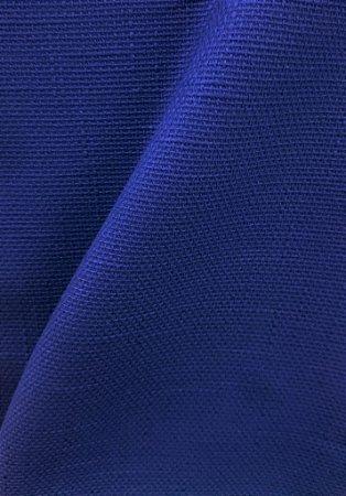Tecido algodão impermeabilizado Linhao Liso Azul Sev 33