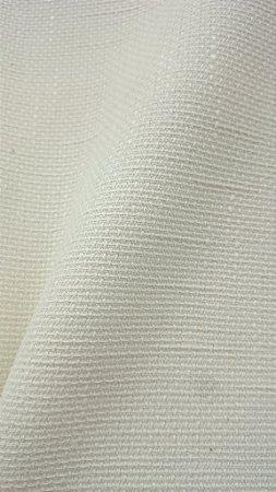 Tecido algodão impermeabilizado Liso Creme Claro Linhão Sev 11
