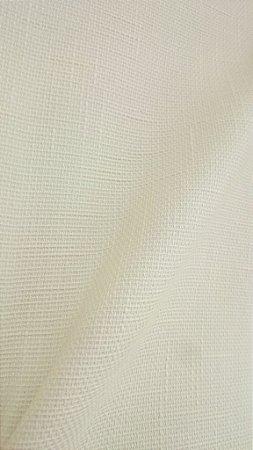 Tecido algodão impermeabilizado Liso Linhão Cru Creme claro Sev 39