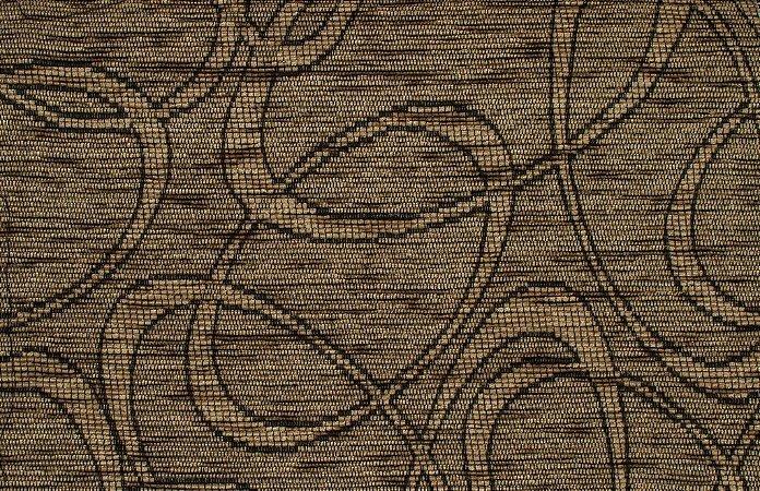 Tecido Chenille Abstrato Dourado escuro - Pol 41