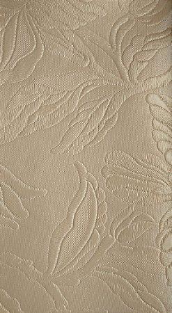 Tecido courvin Floral Bege com leve brilho - Vivace 03