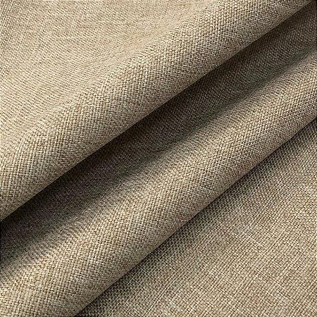Tecido linho Rustico Clássico Linen Look Bege