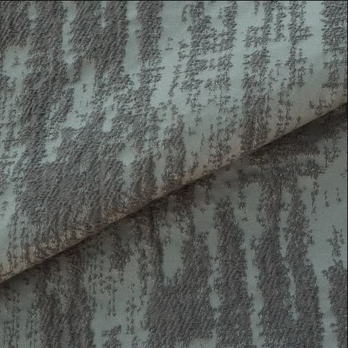 Tecido para Sofá e Estofado Jaquard  Verde musgo Estrelado - Ferr - 21