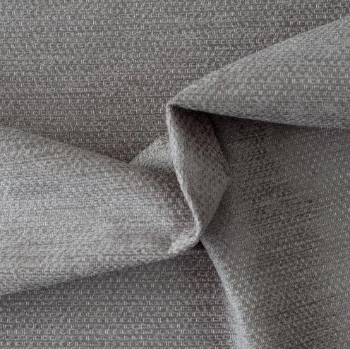 Tecido Para Sofá e Estofados Chenille Viscose Cinza Versalhes - 27