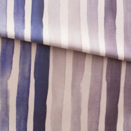 Tecido para Sofá e Estofado Veludo Em  Tons de Azul - MARSE 14