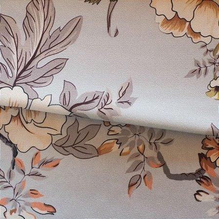 Tecido para Sofá e Estofado Veludo Floral - MARSE 36