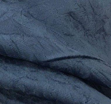Tecido veludo Amassado Cor Azul - Valor de venda em atacado(Rolos), ler detalhes abaixo