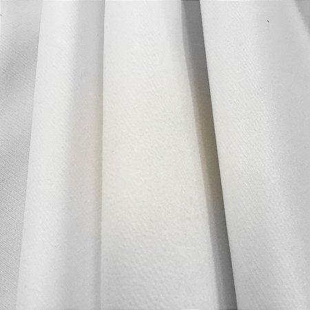 Tecido Veludo Branco liso, macio e confortável