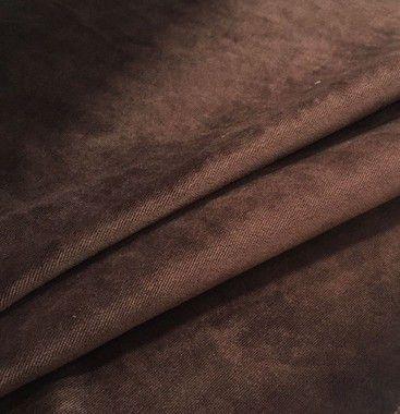 Tecido veludo liso Cor Marrom- Valor de venda em atacado(Rolos), ler detalhes abaixo