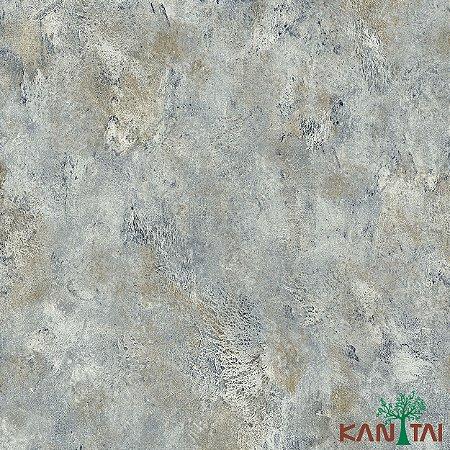 Papel de Parede Moda Em casa 2 Cimento Índigo - MD700101R