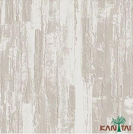 Papel de Parede Moda Em Casa 2 Cimento Texturizado Massa Corrida Creme - MD700501R