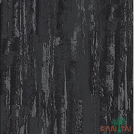 Papel de Parede Moda Em Casa 2 Cimento Texturizado Massa Corrida Chumbo - MD700504R