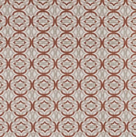 Tecido Jacquard Impermeabilizado Otto terracota - Marb 01