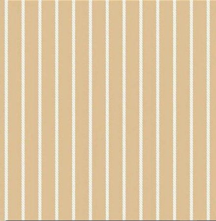 Tecido para Moveis Cordone Bege-Branco- Acquablock 19