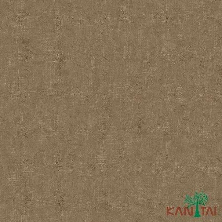 Papel de Parede Moda Em Casa 3 - Ranhuras Verde Com fundo Marrom - MD702405R