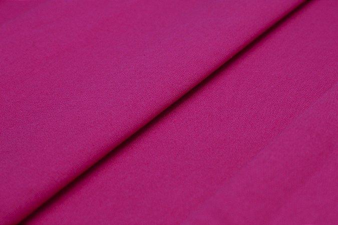 Tecido Tricoline Pink Liso 100% Algodão com 1,50 metros de largura - 203