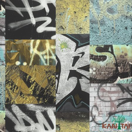 Papel de Parede Stone Age - Grafites Amarelos - SN603202R