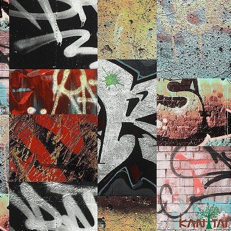 Papel de Parede Stone Age - Grafites Vemelhos - SN603201R