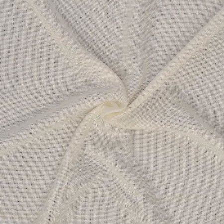 Tecido Para Cortina Voil Menfis Off White - Largura 3,00m - Menfis 01