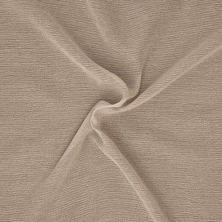 Tecido Para Cortina Voil Royal Marrom - Largura 3,00m - Royal 03