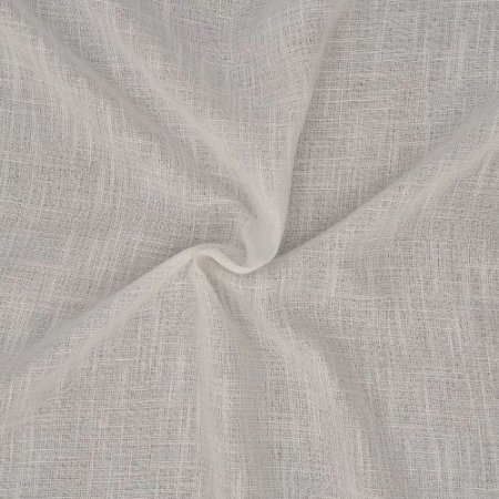 Tecido Para Cortina Voil Vegas Off White - Largura 3,00m - Vegas 02