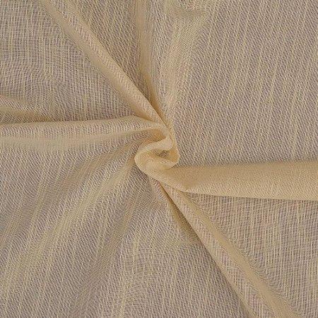 Tecido Para Cortina Voil Nilo Natural - Largura 3,00m - Nilo 01