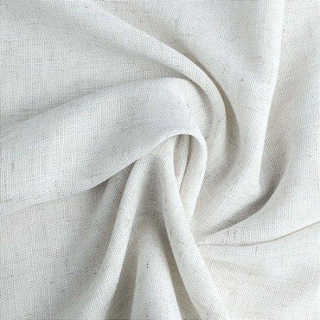 Tecido Para Cortina Voil Legito Branco - Largura 2,80m - Egito 01
