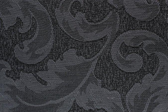 Tecido Jacquard Chumbo Floral - PAN 143