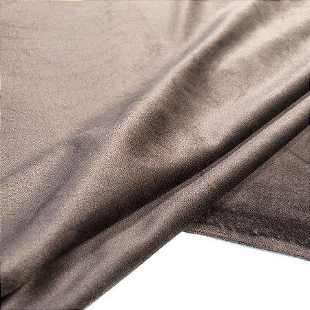 Tecido Veludo para Cortina 2,80 de largura - Marrom - SIL03