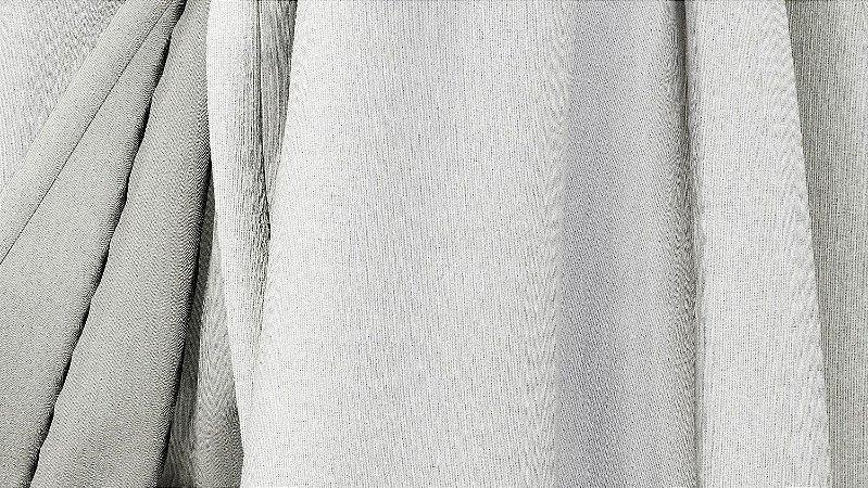 Tecido para Cortina American Gorgurinho Shantung Marfim - Largura 2,90m - AME-14