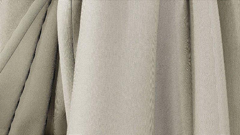 Tecido para Cortina American Gorgurinho Shantung Cinza - Largura 2,90m - AME-19