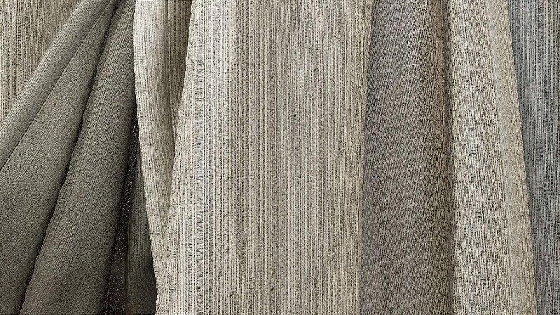 Tecido para Cortina American Madras Silver Branco - Largura 2,90m - AME-42