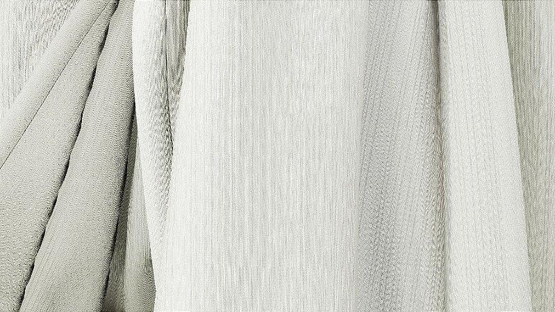 Tecido para Cortina American Madras Marfim - Largura 2,90m - AME-46